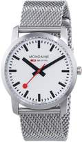 Mondaine Women's A400.30351.16SBM Analog Display Swiss Quartz Silver Watch