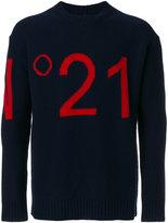No.21 logo jumper - men - Polyamide/Viscose/Wool - 44