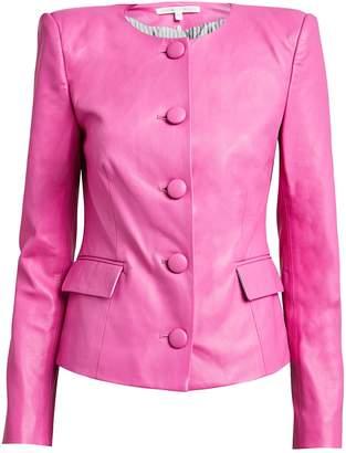 Veronica Beard Louisa Leather Jacket