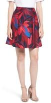 Draper James Women's Autumn Bloom A-Line Skirt
