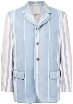 Comme des Garcons Pre-Owned striped blazer
