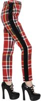 Vivienne Westwood Plaid Washed Cotton & Wool Pants