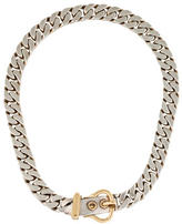 Hermes Curb Chain Buckle Necklace