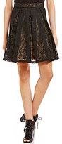 Soprano Lace Box Pleat Skirt