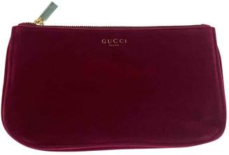 Gucci Red Velvet Travel bags