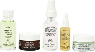 YOUTH TO THE PEOPLE Protect the Planet Refillable Mini Skin Care Set
