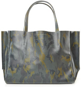 Ampersand As Apostrophe Camouflage Sideways Tote