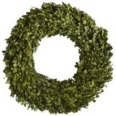 """Pier 1 Imports Preserved Boxwood Wreath - 22"""""""