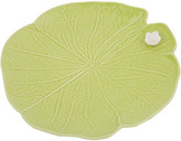 Leaf with Flower Plate