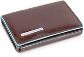 Piquadro Square Leather Card Case