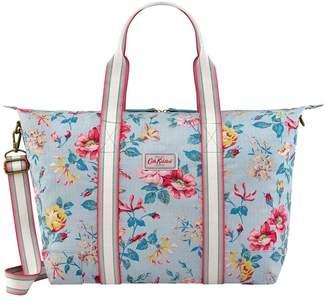 Cath Kidston Womens Pembroke Rose Foldaway Overnight Bag - Blue