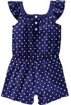 Old Navy Flutter-Sleeve Polka Dot Rompers for Baby