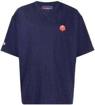 YMC short sleeve logo patch T-shirt