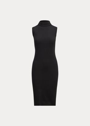 Ralph Lauren Merino Wool Turtleneck Dress