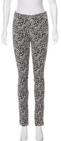 Zadig & Voltaire Knit Mid-Rise Pants