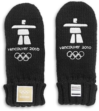 Canadian Olympic Team Collection Kid's Vancouver 10 Year Anniversary Mittens