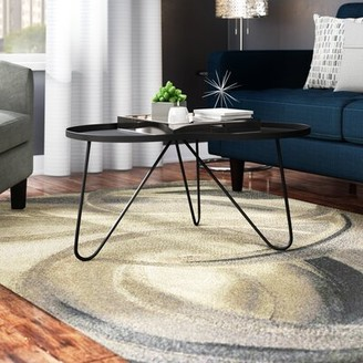 Bronx Delphi Coffee Table with Tray Top Ivy