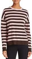 Rag & Bone Metallic-Striped Sweater