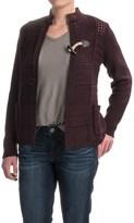 Woolrich Poppy Ridge Pointelle Cardigan Sweater (For Women)