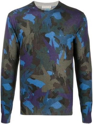 Etro Camouflage-Pattern Jumper