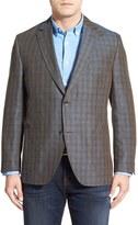 Kroon Bono 2 Plaid Linen Sport Coat (Big & Tall)