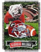 NCAA Georgia Bulldogs Home Field Advantage College Throw