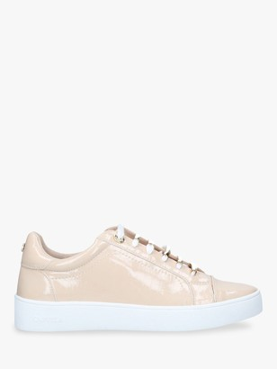 Carvela Juna Lace Up Trainers, Natural