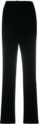 Giorgio Armani High-Waist Velvet Trousers