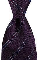 Missoni Track-Striped Traditional Silk Tie