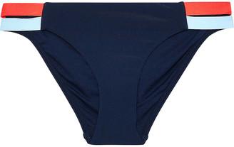 Jets Color-block Low-rise Bikini Briefs