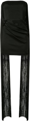 Alex Perry Spence fringed mini dress