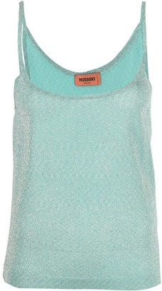 Missoni Metallic-Thread Vest Top