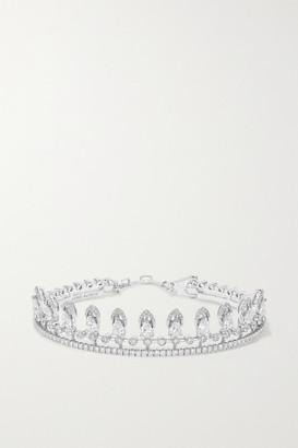 Messika Skinny 18-karat White Gold Diamond Bracelet - one size