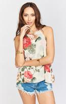 MUMU Selena Top ~ Lady Rose