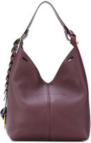 Anya Hindmarch circles strap grained tote - women - Leather - One Size