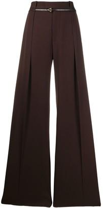 Bottega Veneta Belted Wide-Leg Trousers