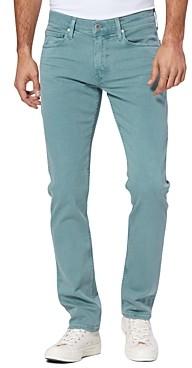 Paige Lennox Slim Fit Jeans in Vintage Rain Water
