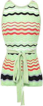 M Missoni Cotton-blend Crochet Top