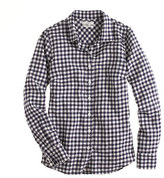 J.Crew Perfect shirt in gingham flannel