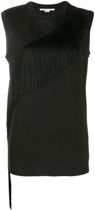 Stella McCartney Asymmetric Fringe Top