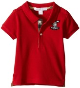 Burberry Palmer Polo Boy's Short Sleeve Button Up