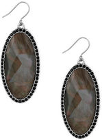 Lucky Brand Mother-of-Pearl Silvertone Drop Earrings