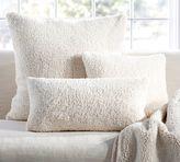 Pottery Barn Faux Sheepskin Pillow Cover
