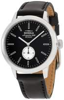Shinola The Bedrock 20058980 Stainless Steel & Leather Quartz 42mm Mens Watch