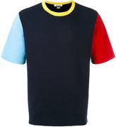 Sunnei knitted colour-block T-shirt - men - Cotton - L