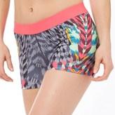 New Balance Womens Accelerate Printed Running Hot Shorts Tulum