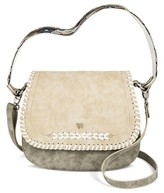 Mac & Jac Mac + Jac® Solid Cross-body Bag - Light Grey
