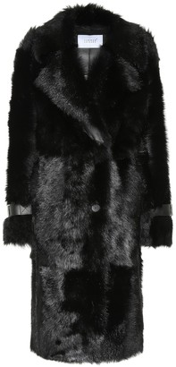 Common Leisure Cool shearling coat