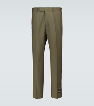 Gucci Orgasmique wool-blend pants