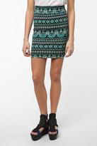 Geo Mini Skirt